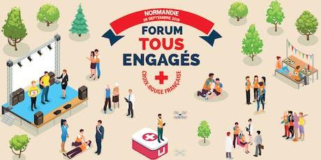 Forum Tous Engagés en Normandie billets