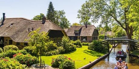 Giethoorn: Roundtrip from Amsterdam + Free Canal Cruise tickets