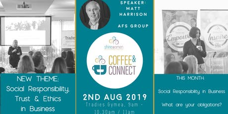 ShireWomen - Coffee & Connect 2nd Aug 2019 tickets