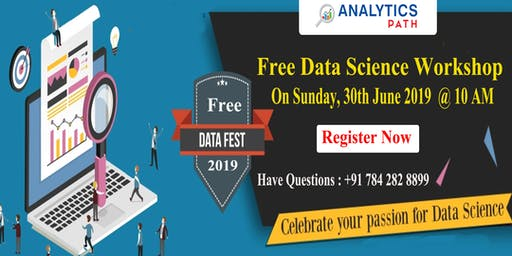 Free Workshop On Data Science To Career in Analytics On 30th June 10 AM Hyd