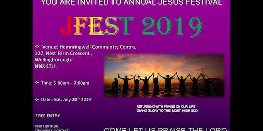 JESUS FESTIVAL. JFest 2019