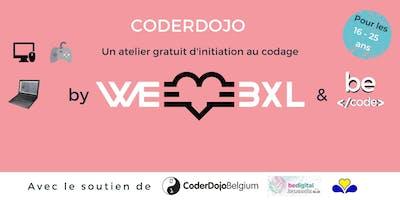 CoderDojo @WeLoveBXL