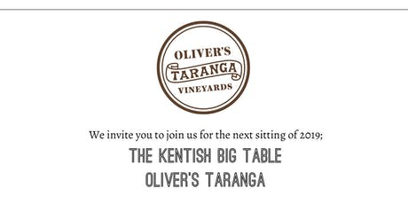 Kentish Big Table - Oliver's Taranga tickets