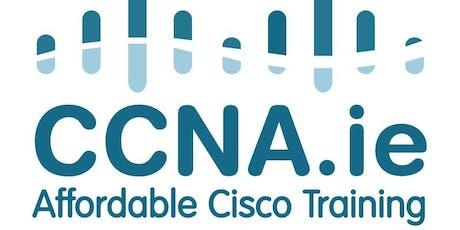 CCNA.ie Six Day CCNA Bootcamp Course Dublin tickets