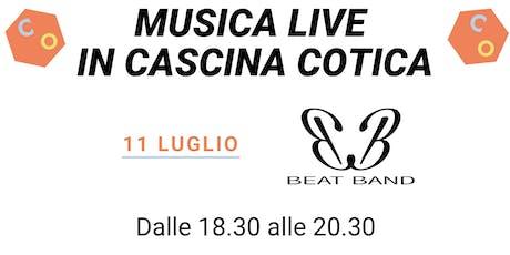 Musica live in Cascina Cotica biglietti