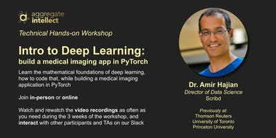 Premium Hands-on Workshop: Intro to Deep Learning