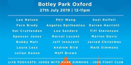 FanAtic Comedy & Food Festival Oxford tickets