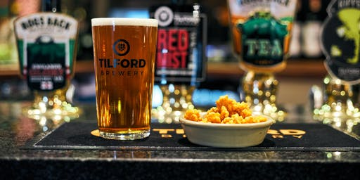 Tilford Brewery's Beer & Cheese Workshop