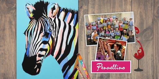 Zebra Painting Event - Dipingi, divertiti, socializza!