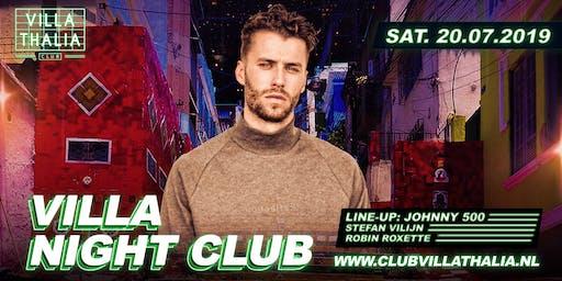 Villa Night Club: Johnny 500 20-7