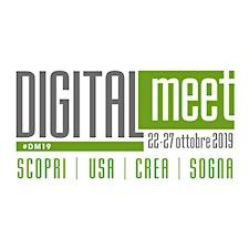 DIGITALmeet - Scopri | Usa | Crea | Sogna logo