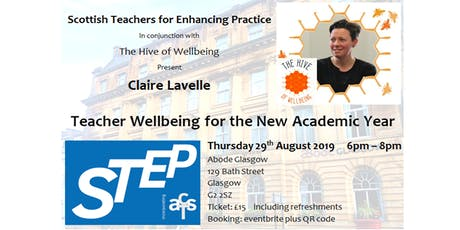 Teacher Wellbeing for the New Academic Year  with Claire Lavelle tickets