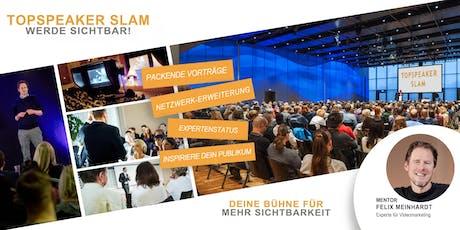 Topspeaker SLAM im PresseClub München Tickets