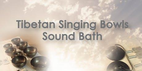 Singing Bowls Sound Bath 頌砵聲浴 tickets
