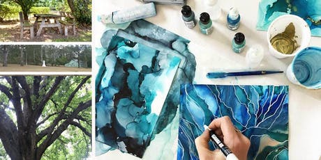 Creative Expression - Mindful Alcohol Ink Art Workshop tickets