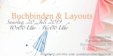Workshop Buchbinden & Layouts  Tickets