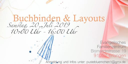 Workshop Buchbinden & Layouts