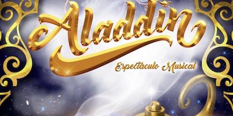 Musical Aladin Vigo 5 octubre 2019 19:00 h entradas