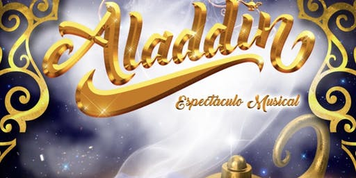 Musical Aladin Vigo 5 octubre 2019 19:00 h