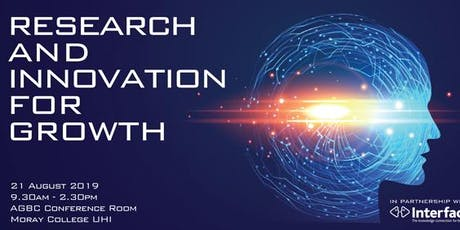 Moray - Research and Innovation for Growth Event tickets