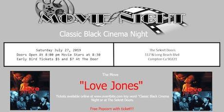 Classic Black Cinema Night tickets