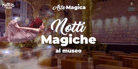18 luglio - Notte Magica al Museo Luigi Bailo - terzo turno biglietti