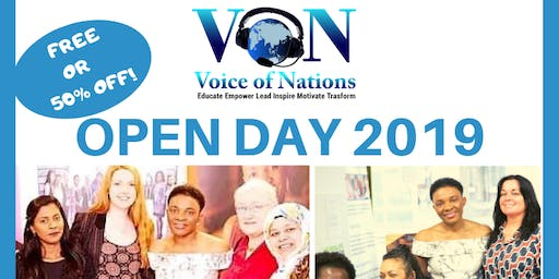 Open Day At Voice Of Nations