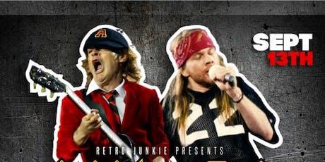 AXL/DC (Tribute to AC/DC w/ Axl Rose) + DJ Billy VIdal  tickets