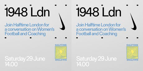 Halftime London presents: screenings, talks, T-shirts and more. tickets