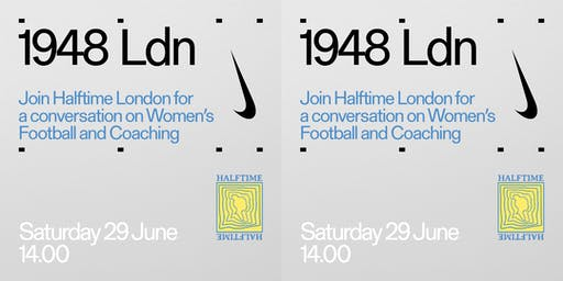 Halftime London presents: screenings, talks, T-shirts and more.