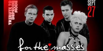 For The Masses (Depeche Mode Tribute) + DJ Billy VIdal