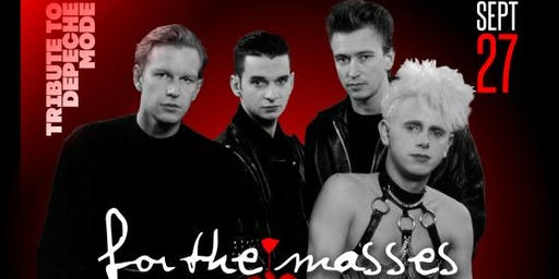 For The Masses (Depeche Mode Tribute) + DJ Billy VIdal