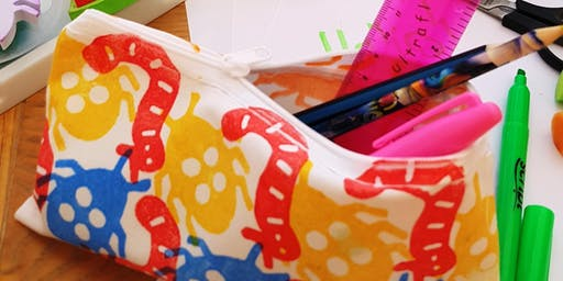 The Handmade and Creative Market - Wild and Wacky Children's Hand block Printing Mini Workshop