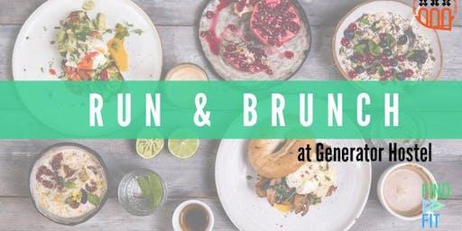 Run & Brunch at Generator Amsterdam