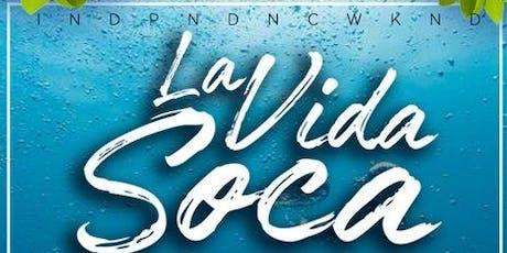 "La Vida Soca Meets Zu ""The Wild Beach Experience""  tickets"