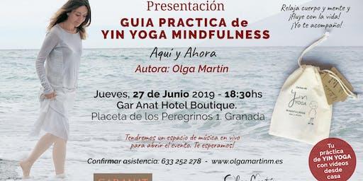Presentación de la Guía Práctica de Yin Yoga Mindfulness