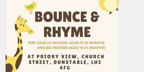 Bounce & Rhyme Lil' Movers tickets