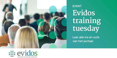 Evidos Training Tuesday tickets