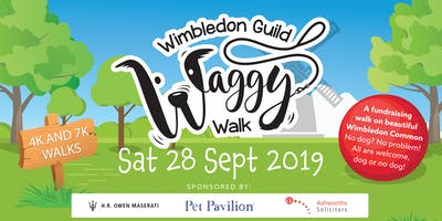 Wimbledon Guild Waggy Walk