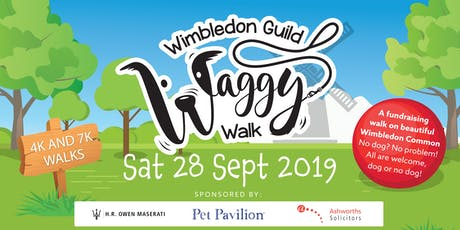 Wimbledon Guild Waggy Walk tickets