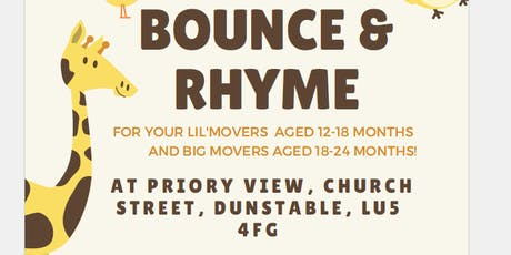 Bounce & Rhyme Big Movers tickets