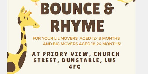 Bounce & Rhyme Big Movers