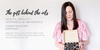 The gift behind the oils