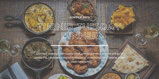 St. Louis MetroMarket Presents: Turnip Tuesdays @ Juniper!