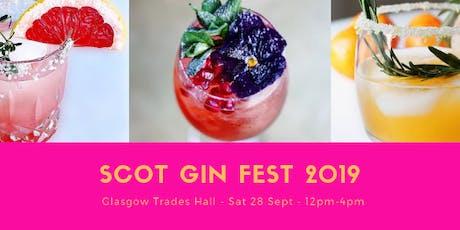 Scot Gin Fest 2019 tickets