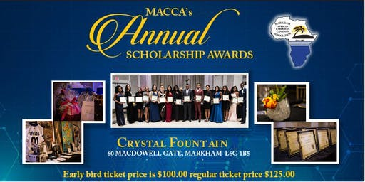 MACCA 32nd Annual Scholarship Awards