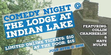 Comedy @ The Lodge at Indian Lake tickets