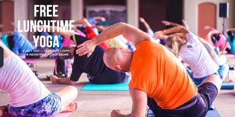 Summer of Colour Free Lunchtime Yoga tickets