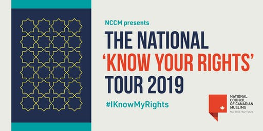 Know Your Rights Workshop - 'Train the trainer' (Halifax)