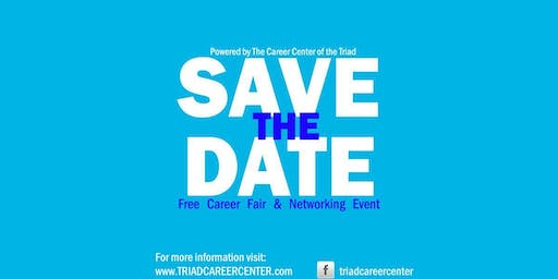 Free Career Fair and Networking Event. Piedmont/ Triad
